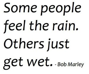 bob marley, rain, and quote image