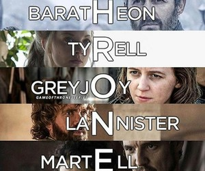 tyrell, got, and martell image