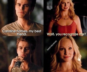 tvd, the vampire diaries, and caroline forbes image