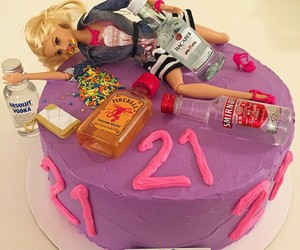 21, barbie, and birthday image