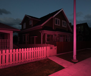 house, pink, and grunge image