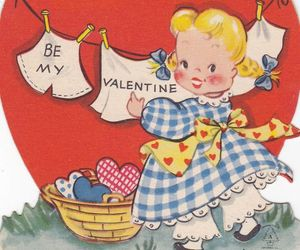 1940s, etsy, and greeting card image