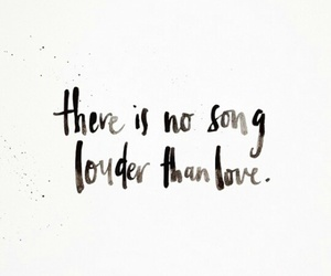 love, quote, and song image