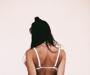 aesthetic, back, and bra image