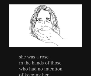 attention, girl, and poem image