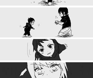 naruto, sasuke, and itachi image