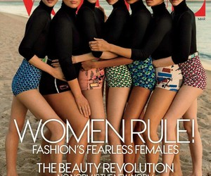 girls, vogue, and ashley graham image