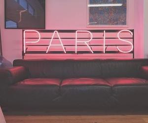 1975, neon, and paris image