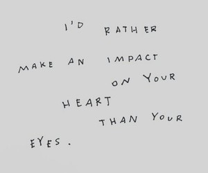 heart, words, and quote image