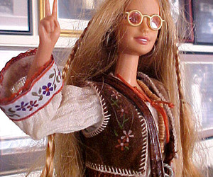 barbie and hippie image