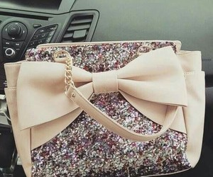 bag, fashion, and sparkle image