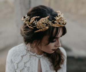 fashion, hippie, and flower crown image