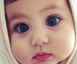 baby, child, and eyes image