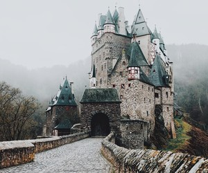 nature, castle, and travel image