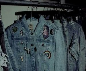 grunge, jacket, and style image