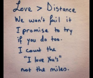distance, quotes, and text image