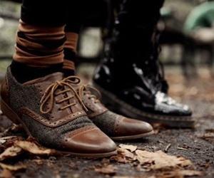 fashion, shoes, and autumn image