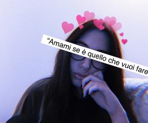 frasi, girl, and love me image
