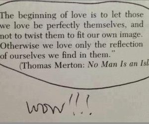 love, quotes, and reflection image