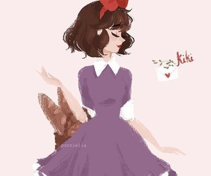 fanart, kiki, and studio ghibli image