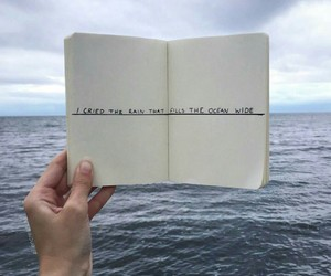 ocean, book, and quotes image
