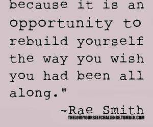quotes, life, and rebuild image