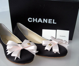 chanel, shoes, and black image