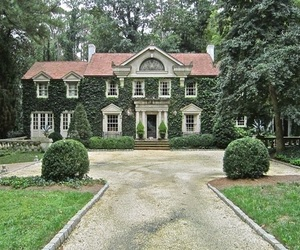 house, garden, and mansion image