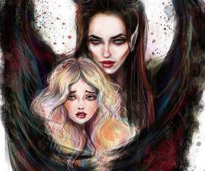 maleficent, disney, and aurora image