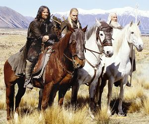 Legolas, aragorn, and gandalf image