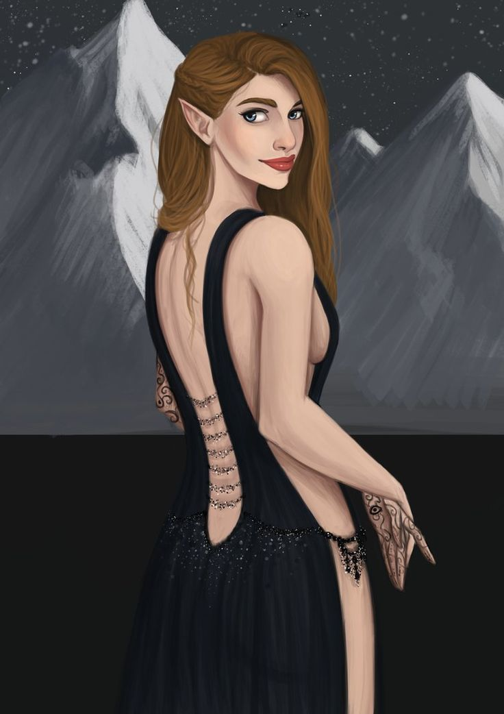 fanart and feyre archeron image