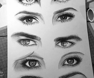eyes, tvd, and art image