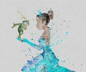 disney, tiana, and art image