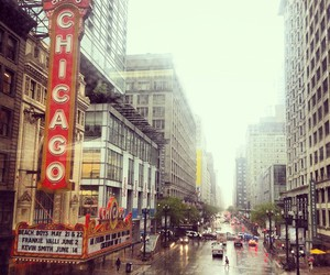 chicago, new york, and city image
