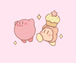 cupcake, kirby, and nintendo image