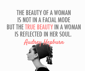 quotes, audrey hepburn, and beauty image