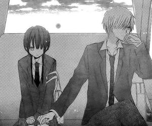 manga, shoujo, and last game image