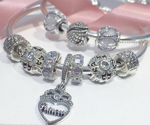 accessories, bracelet, and pink image