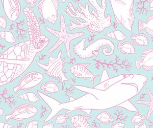 background, fish, and illustration image