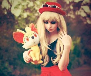 cosplay, pokemon, and serena image