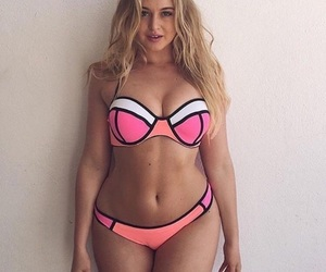 beautiful girl, iskra lawrence, and blonde image