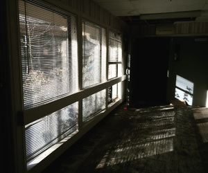 abandoned, aesthetic, and blinds image