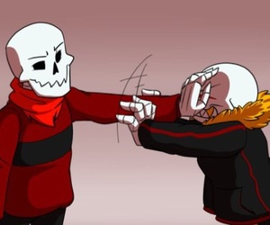 edge, underfell, and fell!sans image