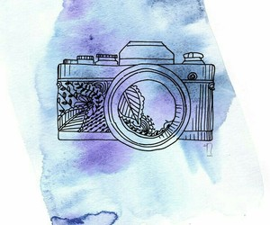 art, camera, and colors image