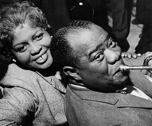 louis armstrong and love image