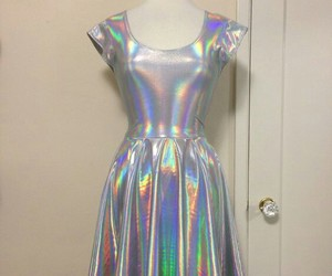 holographic and dress image
