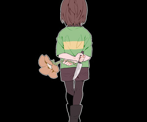 chara, undertale, and flower image