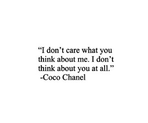 quotes and coco+chanel image