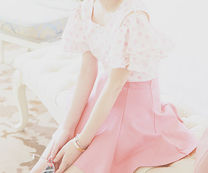 pink, style, and cute image