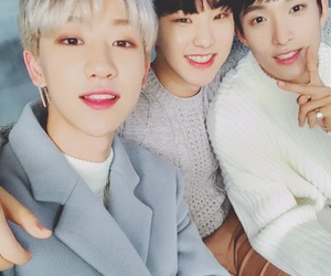 DK, the8, and hoshi image